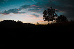 Carpathians landskap Fotografering för Bildbyråer