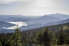 Carpathians. Mountain Royalty Free Stock Photos
