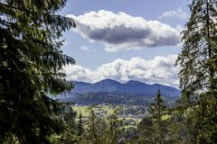 Carpathians. Mountain Stock Photo