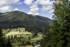 Carpathians. Mountain Royalty Free Stock Images