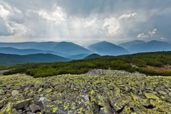Carpathians mountains Stock Image