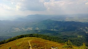 Carpathians Mountains Royalty Free Stock Photo