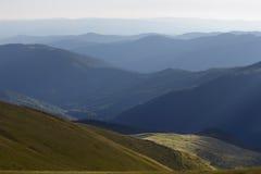 Carpathians mountains. Carpathians National Park, Biosphere Reserve Royalty Free Stock Images