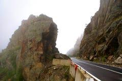 Through the Carpathians Mountains Stock Photos