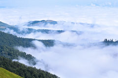 Carpathians ridges Stock Photos