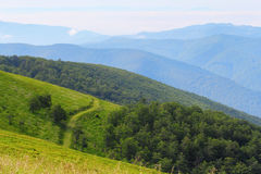 Carpathians ridges Stock Photo