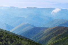 Carpathians ridges Stock Photos