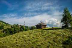 Carpathians in Romania Royalty Free Stock Images