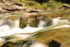 Carpathians waterfall Stock Photography