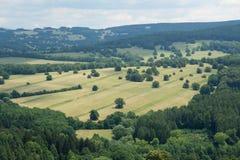 Carpathien blanc, Moravie, République Tchèque image stock