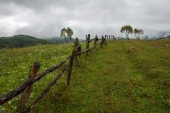Carpathiens en automne Photos libres de droits