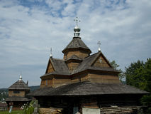 Carpatian. Carpathian Mountains Ukraine architectural religion royalty free stock image
