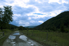Carpatian. Carpathian Mountains Ukraine transylvania travel royalty free stock photos