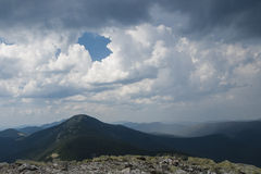 Carpatian. Carpathian Mountains Ukraine panoramic peak photography stock image