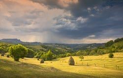 Carpatian Landscape Stock Image