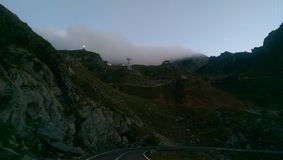 Transfagarasan road Stock Images