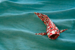 Carpe de koi d'origami Photo stock