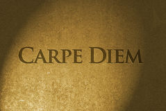 Carpe Diem Royalty Free Stock Photo