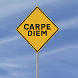 Carpe Diem Stock Image