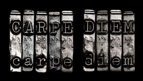 Carpe diem 库存照片