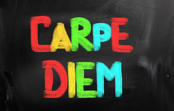 Carpe Diem Concept Stock Photography