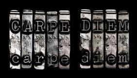 Carpe diem Stock Photo