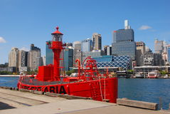 Carpentaria Red Lightship Stock Images