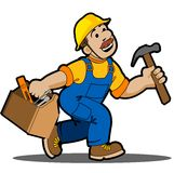 Carpenter. Stock Photo