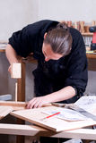 Carpenter Royalty Free Stock Images