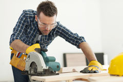 Free Carpenter At Work Royalty Free Stock Photos - 39367468