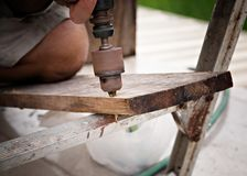 Carpenter royalty free stock photos