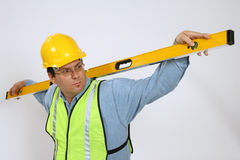 Carpenter Construction Stock Image