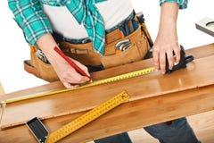 Carpenter detail Royalty Free Stock Image