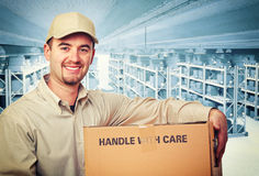 Carpenter  on duty Stock Photography