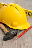 Carpenter equipment Stock Photos