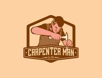 Carpenter Man Royalty Free Stock Photos