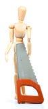 Carpenter manequin Stock Photo