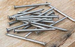 Carpenter nail accessories Stock Photography