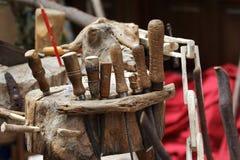 carpenter narzędzi Zdjęcia Royalty Free
