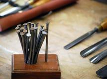 carpenter narzędzi Zdjęcie Royalty Free