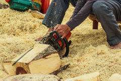 Carpenter Royalty Free Stock Image