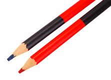 Carpenter's pencil Royalty Free Stock Photo
