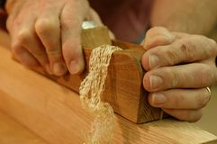 Free Carpenter S Plane And Shaving Stock Images - 1531024