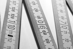 Carpenter's ruler  Stock Image