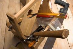 Carpenter's tool Royalty Free Stock Photo