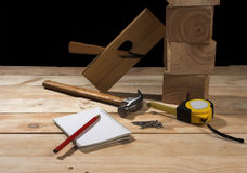 Carpenter's tool royalty free stock photos