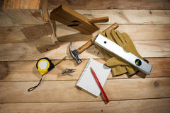Carpenter's tool royalty free stock images