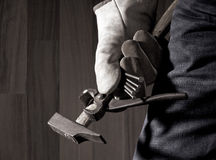 Carpenter's tools Stock Images