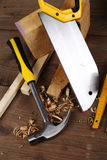 Carpenter's tools Stock Photos