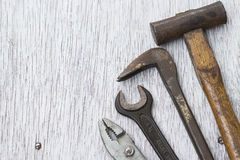 Carpenter's tools Stock Photos